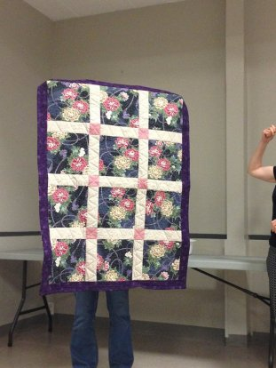 Donna Murawski: I made this charity quilt to be donated to dialysis
