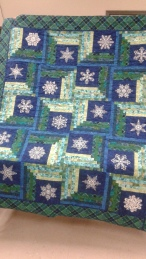 This is our Christmas Raffle Quilt for 2016. Can't wait to buy my raffle ticket:)