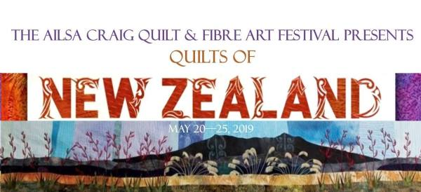trunkshow of quilts from new zealand